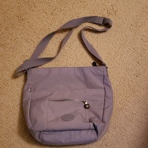 Lilac colored pocketbook